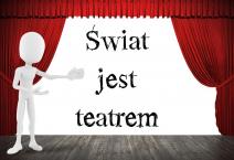 świat jest teatrem logo tps